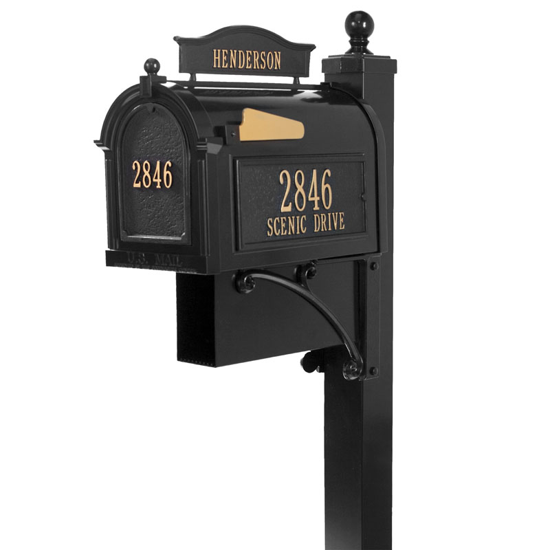 Ultimate Mailbox Package Whitehall Products