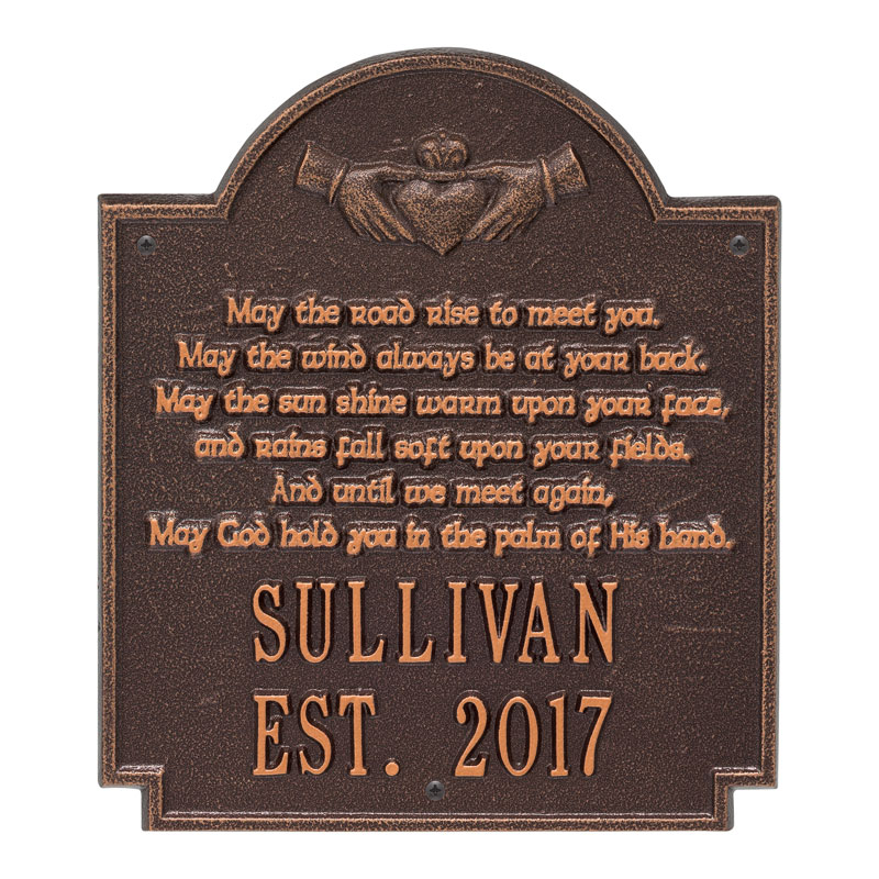 Claddagh Poem Plaque Whitehall Products